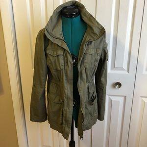 Olive H&M Utility Jacket Sz. 4